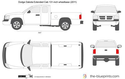 Dodge Dakota Extended Cab 131-inch wheelbase