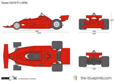 Ferrari 312T2 F1 (1976)