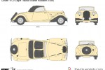 Citroen 11CV Legre Traction Avante Roadster