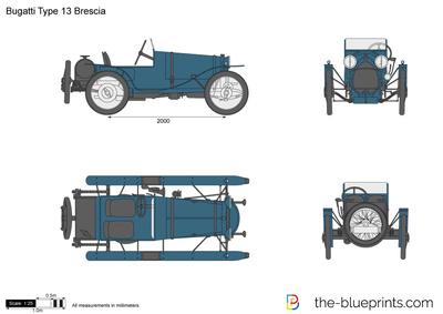 Bugatti Type 13 Brescia (1923)