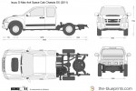 Isuzu D-Max 4x4 Space Cab Chassis SX (2011)