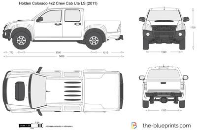 Holden Colorado 4x2 Crew Cab Ute LS (2011)