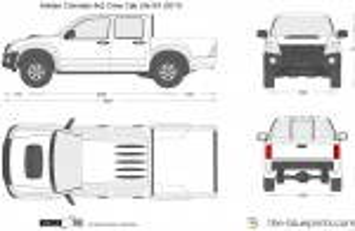 Holden Colorado 4x2 Crew Cab Ute SX (2011)