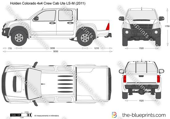 Holden Colorado 4x4 Crew Cab Ute LS-M