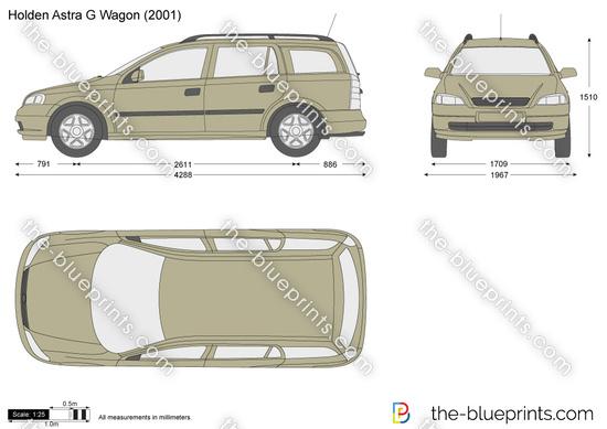 Holden Astra G Wagon