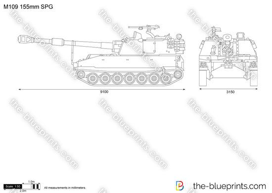 M109 155mm SPG