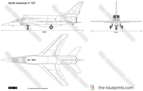 North American F-107