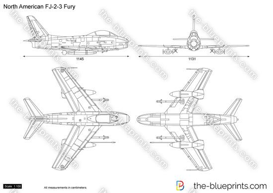 North American FJ-2-3 Fury