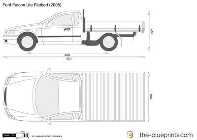 Ford Falcon Ute Flatbed