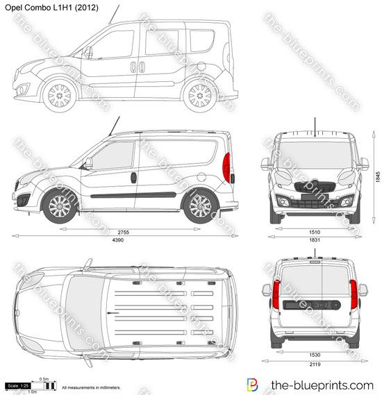 Opel Combo D L1H1