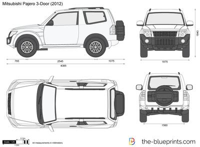 Mitsubishi Pajero 3-Door
