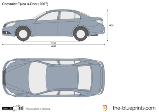 Chevrolet Epica 4-Door