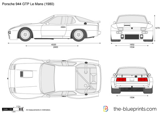 Porsche 944 GTP Le Mans
