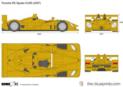 Porsche RS Spyder ALMS