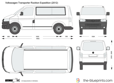 Volkswagen Transporter T5 Rockton Expedition