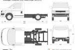 Volkswagen Transporter T5.2 SWB Chassis Single Cab (2012)