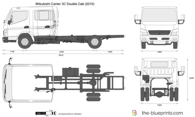 Mitsubishi Canter 3C Double Cab