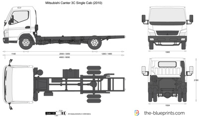 Mitsubishi Canter 3C Single Cab