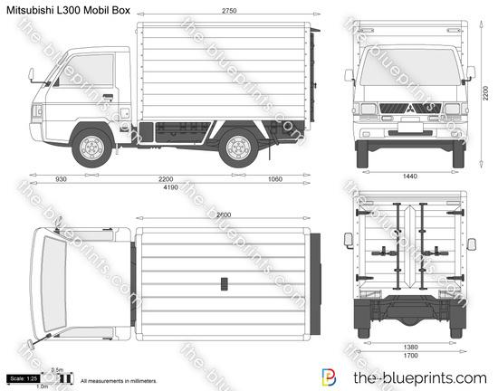 Mitsubishi L300 Mobil Box