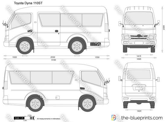 Toyota Dyna 110ST
