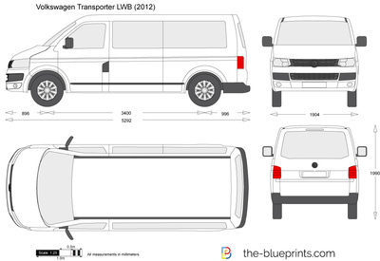 Volkswagen Transporter LWB