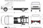 Volkswagen Transporter LWB Chassis Single Cab