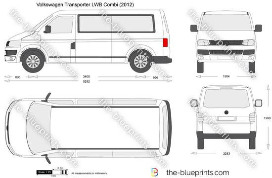Volkswagen Transporter T5.2 LWB Combi