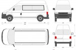 Volkswagen Transporter LWB Combi High Roof