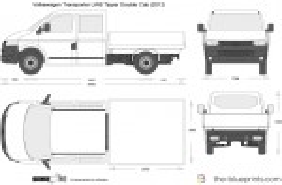 Volkswagen Transporter LWB Tipper Double Cab