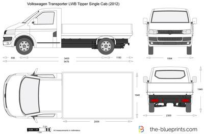 Volkswagen Transporter T5.2 LWB Tipper Single Cab (2012)