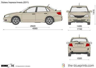 Subaru Impreza Anesis (2011)