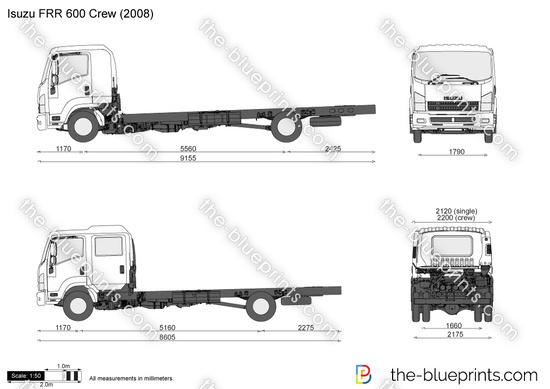 Isuzu FRR 600 Crew