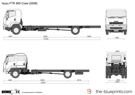 Isuzu FTR 900 Crew