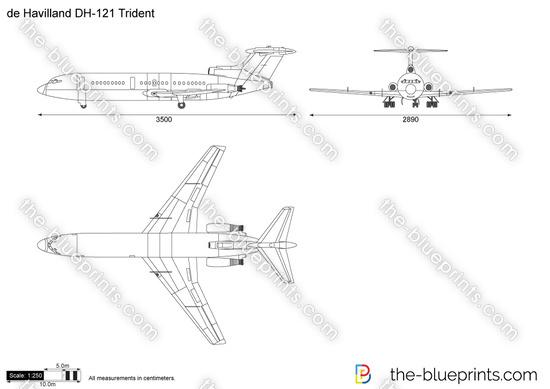 de Havilland DH-121 Trident