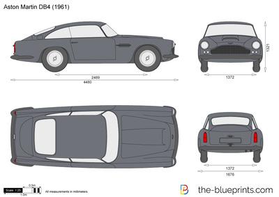 Aston Martin DB4 (1961)