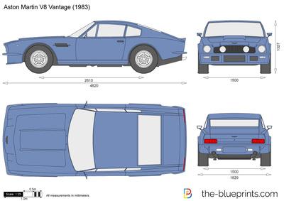 Aston Martin V8 Vantage (1983)