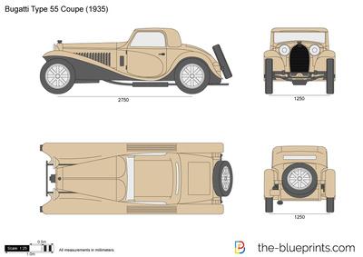 Bugatti Type 55 Coupe (1935)
