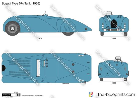 Bugatti Type 57s Tank