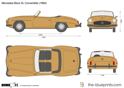 Mercedes-Benz 190SL Convertible R121