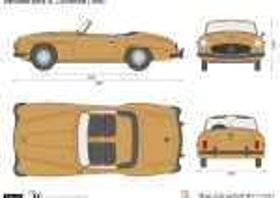 Mercedes-Benz 190SL Convertible R121 (1964)