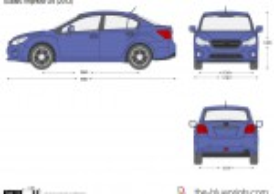 Subaru Impreza G4 (2012)