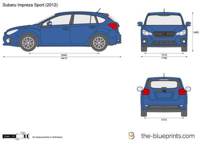 Subaru Impreza Sport (2012)
