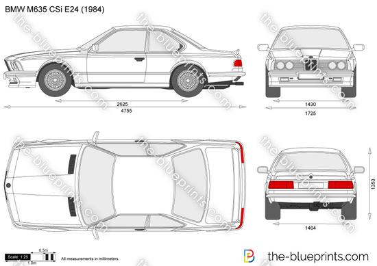BMW M635 CSi E24