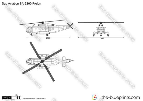 Sud Aviation SA-3200 Frelon