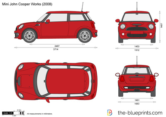 Mini John Cooper Works R56