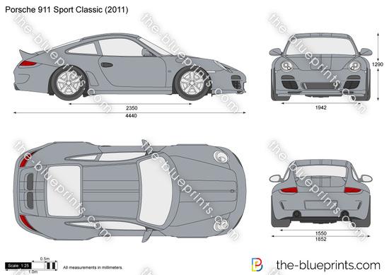 Porsche 911 Sport Classic 997