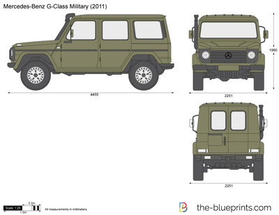 Mercedes-Benz G-Class Military 461