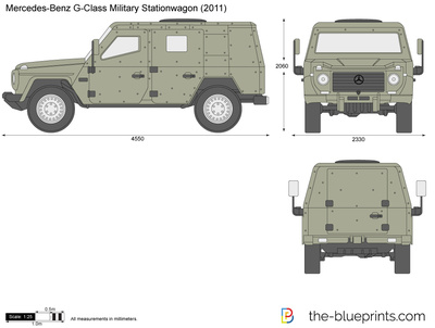 Mercedes-Benz G-Class Military Stationwagon W461