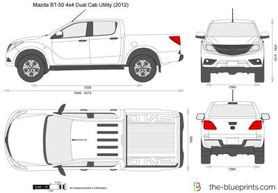 Mazda BT-50 4x4 Dual Cab Utility
