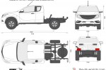 Mazda BT-50 4x4 Freestyle Cab Chassis (2012)